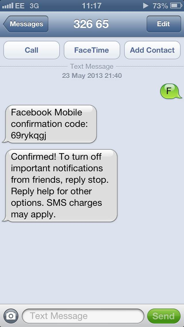 HIJACKING A FACEBOOK ACCOUNT WITH SMS | Juno_okyo's Blog